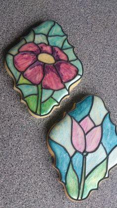 "sugar cookies ""mosaic glass"""