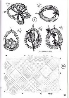 vajíčka - velikonoce Bobbin Lace Patterns, Lacemaking, Lace Heart, Lace Jewelry, String Art, Hobbies And Crafts, Lace Detail, Tatting, Knit Crochet