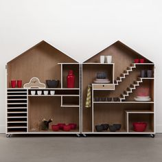 Shed/Shelf — Woonwinkel ... a grown-up Dollhouse. I can imagine so many uses for this!