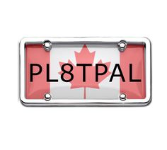 This Canadian License Plate Cover Will Make Your Bike More Appealing