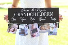 Great Mother's Day gift idea! Personalized Grandma Sign 60%