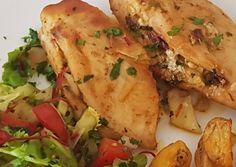 Fetasajtos fűszeres csirkemell töltve | Radácsyné G. Marosi Éva receptje - Cookpad receptek
