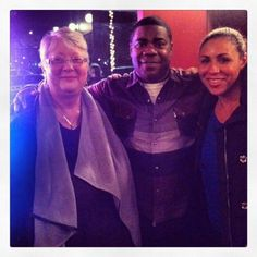 Tracey Morgan in Lexington several months before his accident.