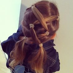 Hairstyles for school » The Organised Housewife - For when Gigi's hair gets longer (hopefully one day soon) and she allows me to actually do things to it.