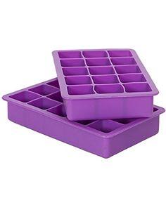 Elbee Silicone Ice Tray15 Cube Set of 2 Elbee