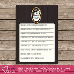 Trendy Baby Shower Game Ideas for 2014