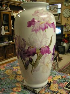 There's Iris a Foot, New 2008 Work in Progress | ARTchat - Porcelain Art Plus (formerly Chatty Teachers & Artists)