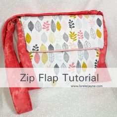 Zip Flap tutorial