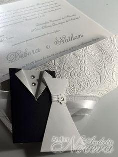 Envelope com textura
