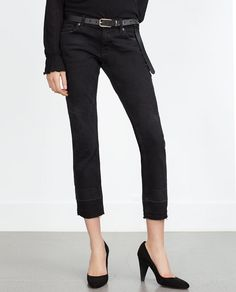 Image 2 of CIGARETTE JEANS from Zara