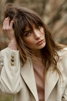 Fringe Hairstyles, Hairstyles With Bangs, Cool Hairstyles, Hairstyles Videos, Easy Hairstyle, Style Hairstyle, Hairstyles 2018, Bad Hair, Hair Day