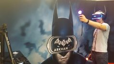 Hands-on with the 'Batman: Arkham VR' demo at Comic-Con  You're expecting something dark, but the world before you is bright. It's very bright, the light's almost golden, and you're surrounded by polished hardwood and marble. Opulence is everywhere except for that gaudy red telephone to your left, but since you're obsessed with this stuff you know that that's the Batphone from the '66 TV series — this is Wayne Manor. Gotta be. Right there, atop the grand piano before you is a framed ..