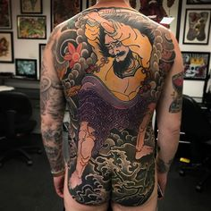 Search inspiration for a Japanese tattoo. Full Body Tattoo, Body Tattoos, Tatoos, Mafia, Bodies, Japanese Tattoo Art, Aboriginal People, Irezumi Tattoos, Men Design