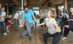 These dance classes are conducted by experienced and passionate instructors who teach participants basic swing steps and moves New Things To Try, Lindy Hop, One Month, Dance Company, Bees Knees, Dance Class, Toronto, Dancer, Fun