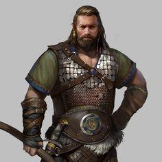 Viking Character, Character Concept, Character Art, Concept Art, Fantasy Races, Fantasy Art, Fantasy Setting, Medieval Fantasy, Barbarian