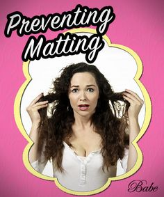 Preventing your Hair Extension from Matting