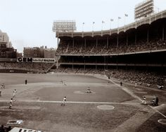 Yankee Stadium Right Field - 1957 World Series Game 6 ©Photofile