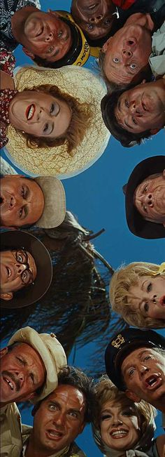 It's A Mad, Mad, Mad, Mad World (Stanley Kramer, 1963) - starring Sid Caesar, Edie Adams, Milton Berle, Dorothy Provine, Spencer Tracy, Buddy Hackett, Mickey Rooney, Eddie 'Rochester' Anderson, Peter Falk, Ethel Merman, Jonathan Winters, Phil Silvers and Terry-Thomas