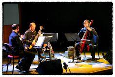 Cuarteto Silent durante su actuación en la Yamsession 2013