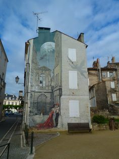Angoulême : cartoon characters depicted in over 20 giant wall paintings http://www.visit-poitou-charentes.com/en/Cognac-country/Angouleme