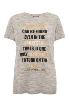 Primark - Harry Potter Dumbledore Quote T-Shirt