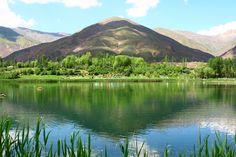 Ovan lake, Quazvin province, Iran.