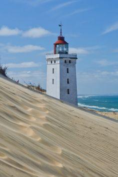 Rubjerg Knude Rock #Lighthouse, #Denmark ..rh