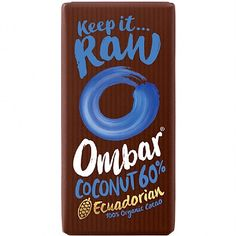 Ombar Probiotic Coconut Raw Chocolate (35g) | Raw chocolate bars | Planet Organic