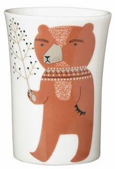 Donna Wilson ceramic tableware. Available to purchase in the Burton Shop. www.burtonartgallery.co.uk