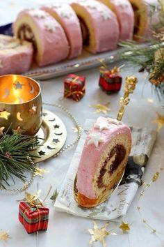 Juditka konyhája: ~ PUNCSROLÁD ~ Xmas, Christmas, Panna Cotta, Rolls, Baking, Roll Cakes, Ethnic Recipes, Sweet, Advent