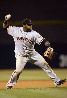 Pablo Sandoval #48 of the San Francisco Giants - He is all ours!  Hurrah!