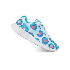nike tanjun print grade school girls' shoes