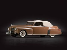 1942 Lincoln Continental Cabriolet   Sam Pack Collection 2014   RM AUCTIONS