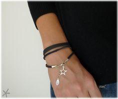 tags : #DIY #bracelet #rocknroll. I like this star bracelet!!!