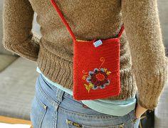 Ravelry: kristinnitsirk's Nålbunden väska