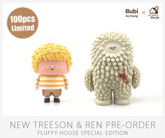 Image of New Treeson & Ren (Fluffy House Special Edition)
