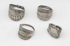 Rings. Silver. Hoard find, Rone, Gotland, Sweden. SHM 16477. In the Historiska Museet, Stockholm.
