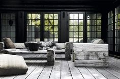 Muted Grey/outdoor furniture