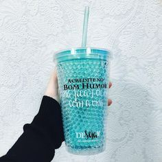 Tumblers, Cute Water Bottles, Cute Cups, Aesthetic Colors, Water Recipes, Girly Things, Flask, Shot Glass, Coffee Cups