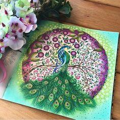 Art by @siqueiraleite ❤ Bom diaaaa colorideiras do meu jardim encantado!!! Genteeee que colorido magnífico! Tô de queixo caído tudo perfeito! ❤❤☄❤❤ #colorindomeujardimencantado #LoveIn30Languages #mycreativeescape #mandala #johannabasford #secretgarden #FlorestaEncantada #enchantedforest #adultcoloringbook #jardimdosbroder #fabercastell #maped #staedtler #mapedcolorpeps #fabercastellbrasil #polychromos #livrocoloriramo #p...