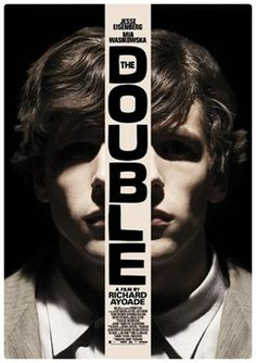 Richard Ayoade's The Double (2014) featuring  Jesse Eisenberg and Mia Wasikowska