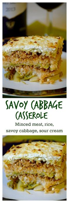 Hungarian layered savoy cabbage casserole (Rakott kelkáposzta) is a real comfort food. The salty cabbage, the paprika mince and the rice go together extremely well, the sour cream makes it creamy. It's all about the marriage of flavors. Click for the recipe.