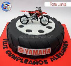 Torta Llanta - Torta moto - motorcycle - Tire cake