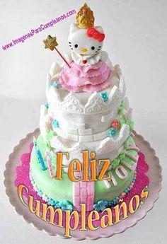 Tarta Cumpleaños Hello Kitty