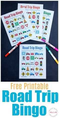 free travel bingo printable and print it off! Along with the Road Trip Bingo you'll also want to make sure you bring along plenty of other car games such as Car Games For Kids, Bingo For Kids, Camping Games Kids, Online Games For Kids, Diy Camping, Family Camping, Camping Ideas, Family Travel, Road Trip Bingo