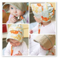 I love this bonnet by Gail of Probably Actually - Rae's Peek-a-boo Bonnet Pattern