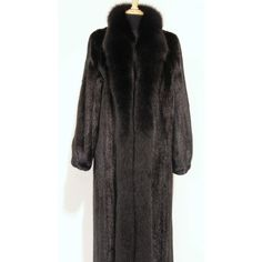 Full Length Mink Coat B. B. Hawk ❤ liked on Polyvore featuring outerwear, coats, mink coat, full length coat, full length mink coat, full length mink fur coat and mink fur coat