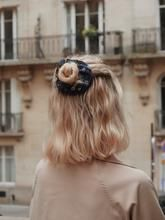 Chouchou à fleurs pétrole - Ashely – Scrunchie is back Scrunchies, Fashion, Hair, Moda, La Mode, Fasion, Fashion Models, Trendy Fashion