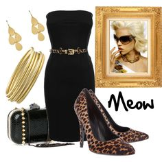 """""""meow"""" by jennifers-vintagevalley on Polyvore"""