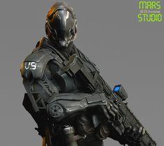 ArtStation - Dark Commander : Mark 1, mars ...
